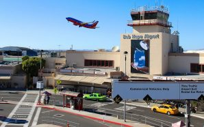 Frustrated residents protestinng concerns over change to Hollywood Burbank Airport…