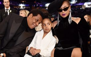 Blue Ivy Looks Like She Wants The Paparazzi To Leave…