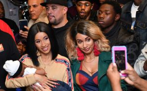 Cardi B hands out free winter coats in New York…