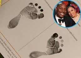 Tyrese Gibson Shares First Pics of Newborn Daughter Soraya