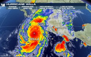 Hurricane Willa Nears Category 5 as 'Extremely Dangerous' Storm Heads…