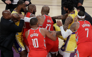 Video appears to show Rajon Rondo spit at Chris Paul…