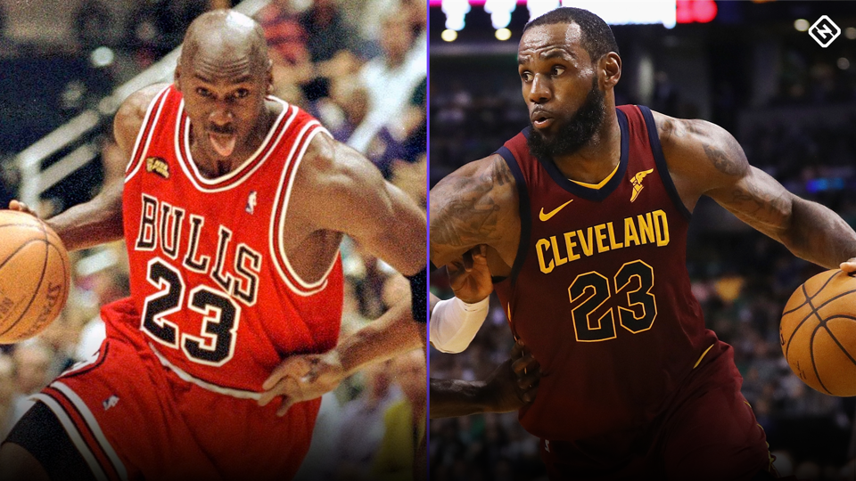 b9364dcae3e8 Michael Jordan Speaks On People Comparing Him And Lebron And Lebron  Responds!