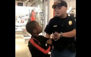 Viral video cop apprehending young black boy draws outrage