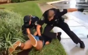 Viral Video: Police Officer Is Caught Punching A Black Teen…