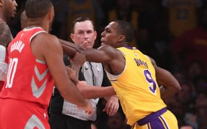 Rondo's Girlfriend Confronted Chris Paul's Wife in Stands After Players…