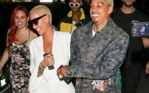 Amber Rose New Boyfriend Anthony Edwards Threw a Surprise Birthday…