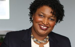 Stacey Abrams defends presence at 1992 burning of Georgia state…