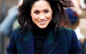Check out Meghan Markle as she gets in the holiday…