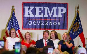 'We're moving forward:' Kemp says he's focused on transition to…
