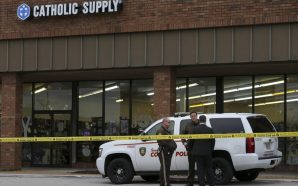 A Gunman Fatally Shot a Woman in a Catholic Supply…