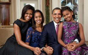 Former President Barack Obama and Family stops by Chicago Food…