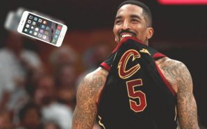 J.R Smith ordered to pay for throwing a fan's phone!