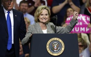 U.S. SEN. CINDY HYDE-SMITH UNDER FIRE FOR 'PUBLIC HANGING' COMMENT