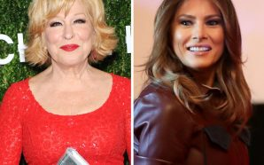 Bette Midler slammed for 'vulgar' tweet about Melania Trump