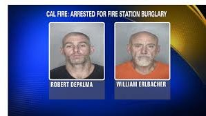 Two men arrested for robbing fire station battling wildfires!