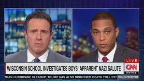 Don Lemon shames students flagging nazi sign in prom photo!