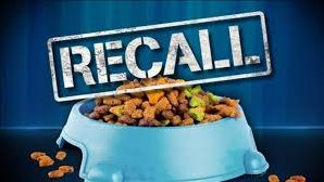 Dog Food Recalled after causing vomit, urinate, have excessive drooling.