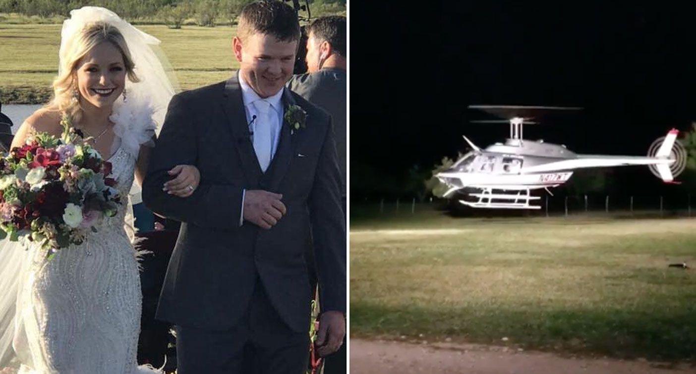 Wedding Helicopter Crash.Newlyweds Reportedly Die In Helicopter Crash Leaving Their Wedding