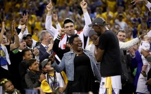 KEVIN DURANT'S MOM I LOVE LEBRON AND MAGIC JOHNSON ……