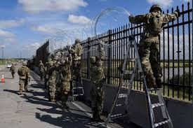 Is The Mexican Border Being Set Up Like A War…