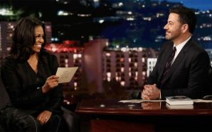 Jimmy Kimmel gets Michelle Obama to say things she couldn't…