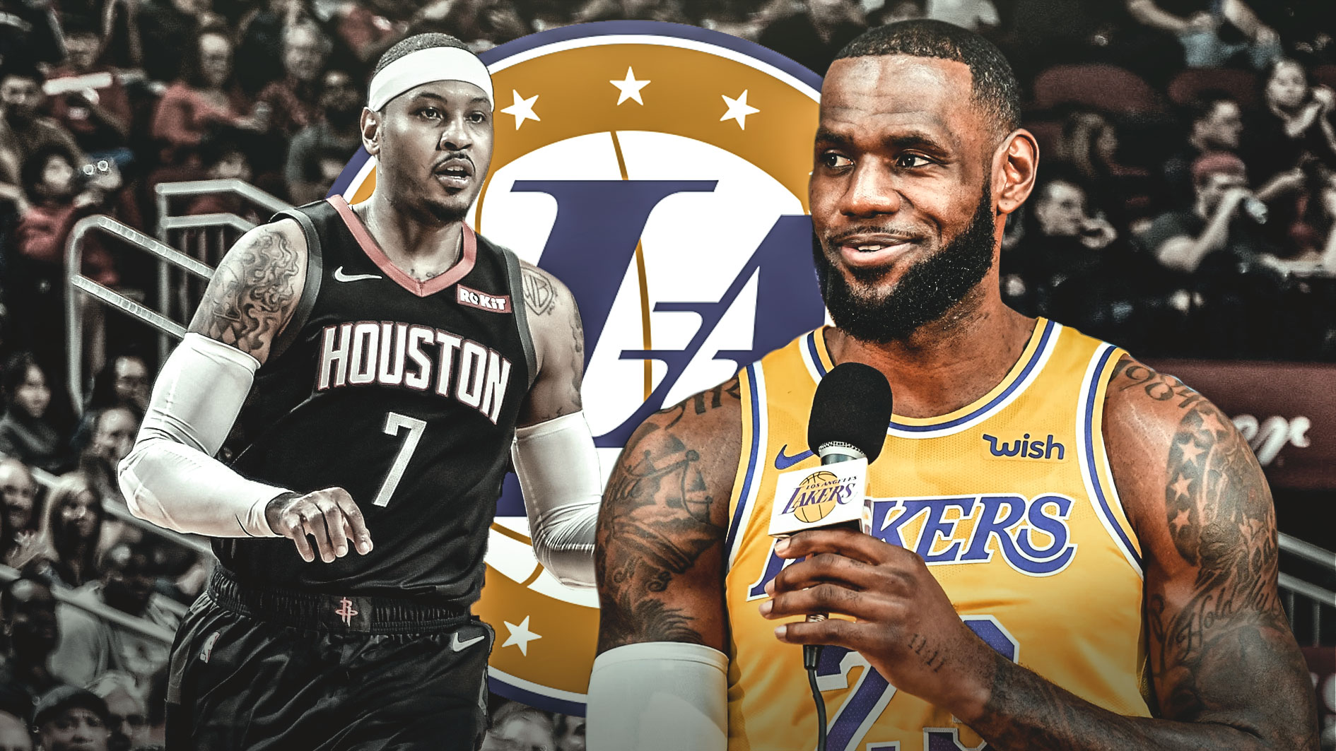 c01ba11df6d7 Lakers have no interest in Carmelo Anthony trade despite LeBron James   desire to add friend