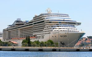 Video: Group of men banned from a cruise ship for…
