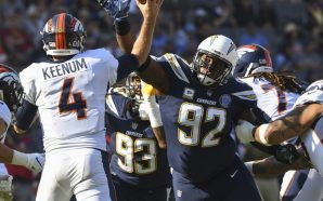 Brandon Mebane Returns to the field following Death of 7-Week-Old…