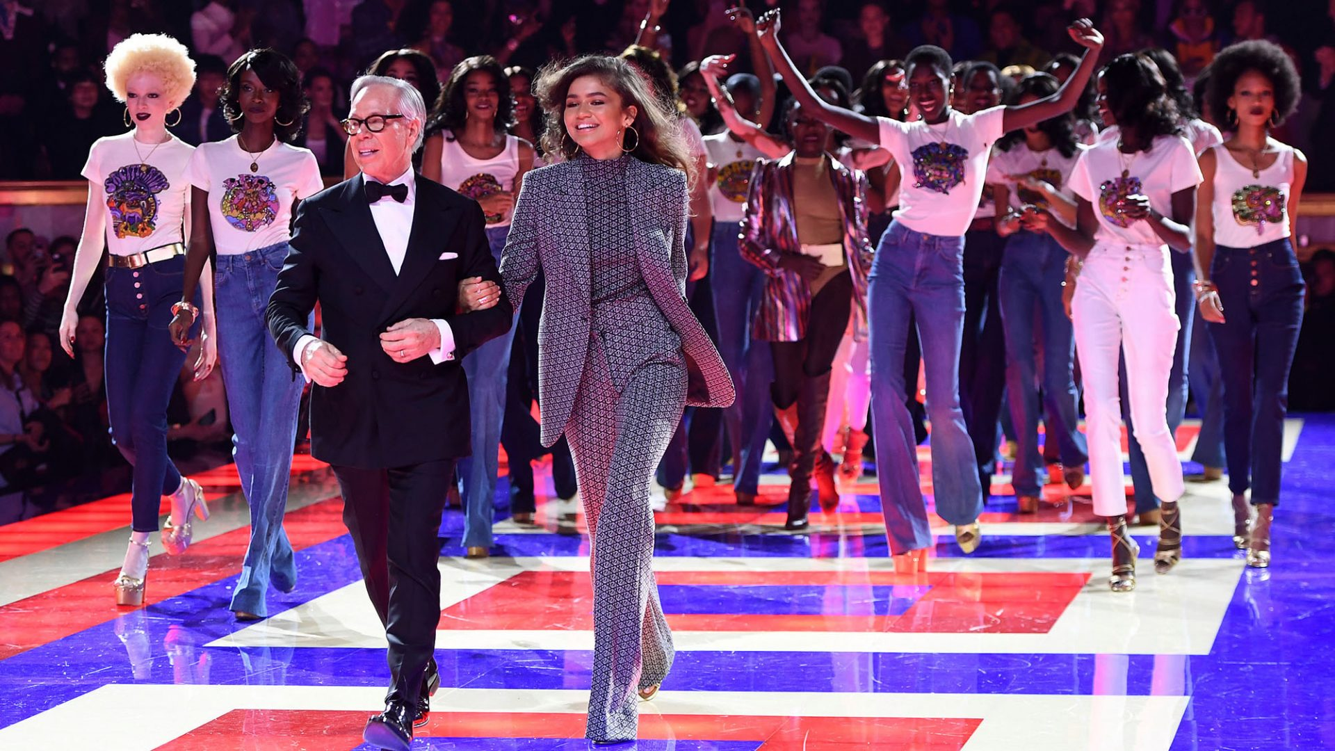 f215611c Tommy Hilfiger And Zendaya Cast All Black Models For Historic Runway Show