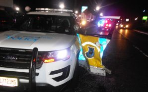 'Drunk' correction officer rams into 11 cars, soils himself