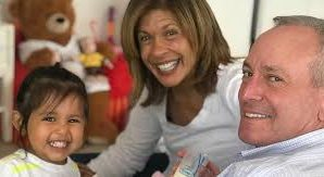 Hoda Kotb shared an adorable family photo to celebrate Easter on…