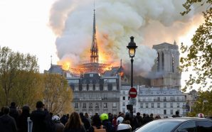 The ICONIC Paris' Notre Dame Cathedral is on fire!