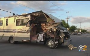 Driver charged with DUI after RV chase!