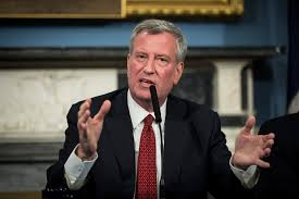 Bill de Blasio to announce presidential bid!