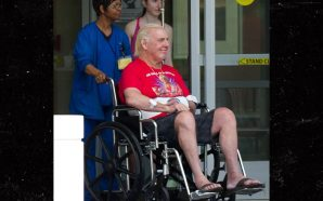 RIC FLAIR LEAVES HOSPITAL IN GOOD SPIRITS … After Surgery