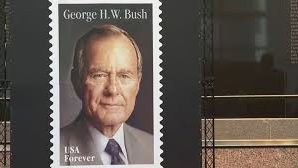 George H.W. Bush postal stamp to be unveiled Wednesday!
