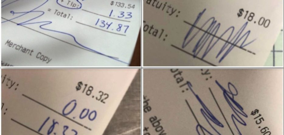 Waitress says ' Black students from University doesn't tip