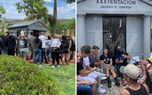 XXXTENTACION FANS VISIT GRAVESITE … 1 Year After Murder