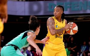 The WNBA has suspended Los Angeles Sparks guard Riquna Williams for 10 games over a…