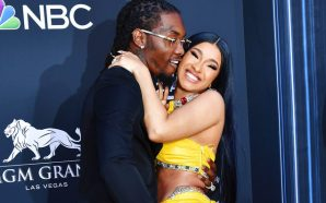 Cardi B shows off new thigh tattoo honoring her husband…