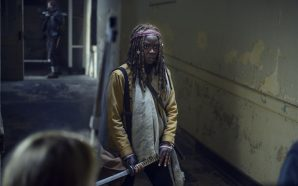 Danai Gurira, who stars as Michonne on 'The Walking Dead,'…
