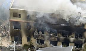 33 killed in fire at Japanese anime studio after man…