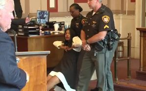 Chaos erupts as judge issues sentence for ex-judge Tracie Hunter!