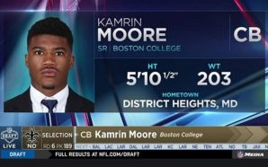 NY Giants' player Kamrin Moore arrested for punching woman unconscious!