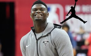 Zion Williamson joins Nike's Jordan Brand!