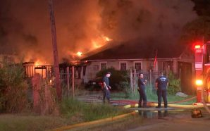 Family loses back-to-school clothes, supplies, everything in overnight house fire!