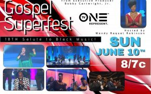 Don't miss the African Pride Gospel Superfest hosted by Wendy…