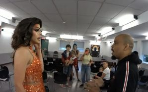 WATCH: Parents boo as Christian street preacher confronts drag queen…