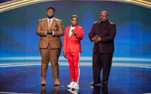 "BET's ""Sunday Best"" finalists Joshua Copeland, and Melvin Crispell, III…"